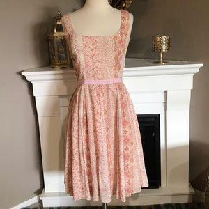 A.B.S.by Allen Schwartz Floral Sleeveless Dress